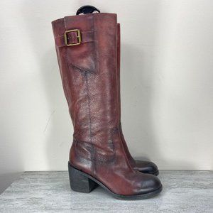 Lucky Tall Boots with Buckle Detail